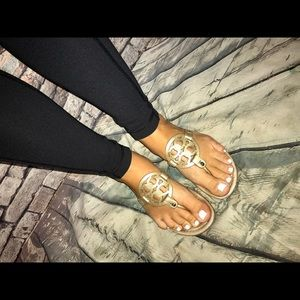 GUC! Tory Burch Sz 6/6.5 Miller sandals